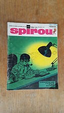 SPIROU N°1589 DU 29 SEPTEMBRE 1968  / AVEC MINI RECIT PAR GELEM / B.