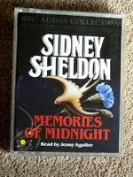 SIDNEY SHELDON - MEMORIES OF MIDNIGHT -  AUDIO BOOK-    ( 2  CASSETTES)