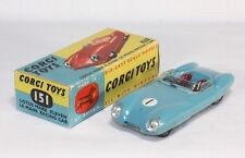 Corgi Toys 151, Lotus Mark Eleven Le Mans Racing Car, Mint in Box        #ab1210