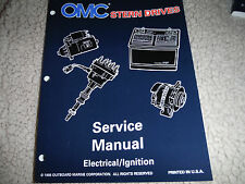 1995-96 OMC STERN DRIVE ELECTRICAL IGNITION SYSTEMS ENGINE MANUAL NEW  #507144