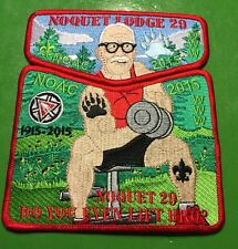 NOQUET Lodge 29 NOAC 2015 Buff Founder Do You Ever Lift For OA Bro?