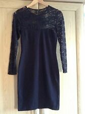 H & M lace dress size small (10)