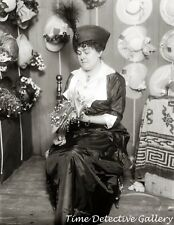 Milliner with Hat Display (2) - Historic Photo Print
