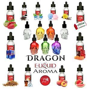 DRAGON Aroma Konzentrat für E-Liquid Base Eliquid E-Zigarette E-Juice 10ml-100ml