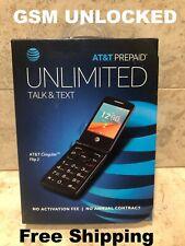 New At&T Alcatel Cingular Flip 2 Unlocked 4G lte WiFi Basic Cell Phone