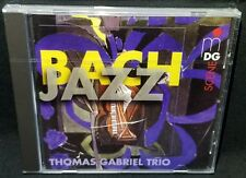 Bach Jazz Thomas Gabriel Trio CD - GERMAN IMPORT - NEW *