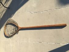 Vintage (Rare) Wood Fish Landing Net Fish Restaurant Decoration