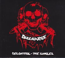 Discharge ‎– Decontrol - The Singles CD - New / Digipak Re (2016) HC Punk D Beat