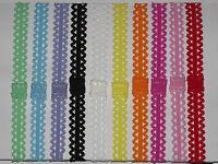 NEW 10pcs Lovely Baby Kids Girls Lace Headband Headwear elastic skinny Hairband