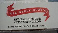 98040 A & K Rebuilders Connecting Rod 98 CID 1.6L Isuzu DOHC engine