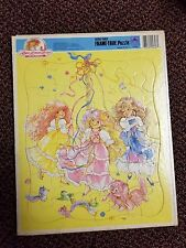 Vintage Lady Lovely Locks & the Pixietails Frame Tray Puzzle 24 pc Golden 1987