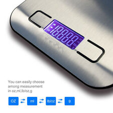 5KG/1g LCD Display Digital Electronic Kitchen Food Diet Scale Weight New