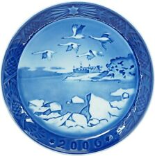 NEW IN BOX! Royal Copenhagen Christmas Plate 2006, Denmark FACTORY FIRST QUALITY