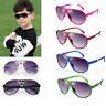 Fashion Kids ANTI-UV Sunglasses Child Boys Girls Shades Baby Goggles Glasses