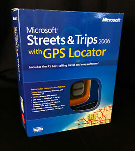 Microsoft Streets and Trips 2006 GPS NEW ZV3-00002 NEW