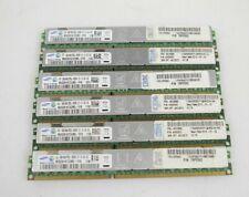 LOT 6x 8GB (48GB) Samsung M392B1K73CM0-YF8 DIMM DDR3L ECC Server RAM