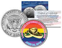 GAY PRIDE Marriage Equality 2015 JFK Half Dollar US Coin Wedding Rings 6/26/2015