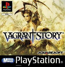 PLAYSTATION 1 PS1 ps2 ps3 VAGRANT STORY