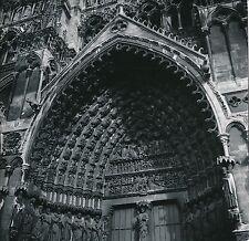 AMIENS c. 1959 - Sculptures Portail Central Cathédrale Somme - Div 10514