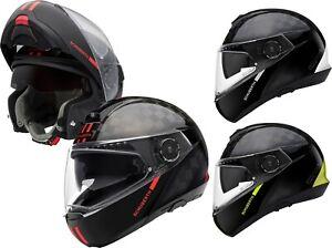 Schuberth C4 pro Carbon Fusion Tempest Flip up Helmet Motorcycle with Sun Visor