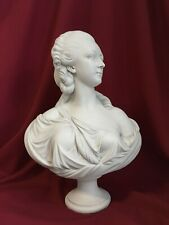 Madame du Barry Bust Sculpture - Female Antique Art Statue in Marble Stone