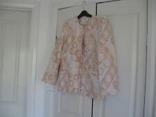 Ladies Jacket Design Rodney Clark Australia Size12 Light & Dark Fawn Long Sleeve