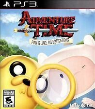 Adventure Time Finn & Jake Investigations RE-SEALED Sony PlayStation 3 PS3 GAME