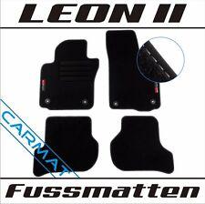 Seat Leon 2 II 1P Fussmatten Bj. 2005-2012 mit LOGO