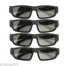 4PCS IMAX Glasses Passive Polarized 3D Glasses for RealD Cinema Samsung FPR TV