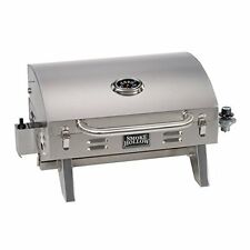 Smoke Hollow 205 Stainless Steel Tabletop Lp Gas Grill New