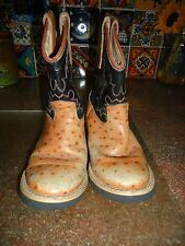 CHILDS OLD WEST COWBOY /WESTERN BOOTS . LOVE THE STYLE AND COLOR COMBO OF THESE