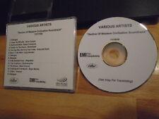 VERY RARE PROMO Decline METAL Years CD ost KISS Guns N' Roses MEGADETH Motorhead