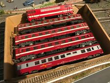 Lot rame Capitole Jouef Lima voiture Grill Express Locomotive BB 9288 SNCF ho