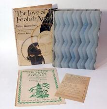 Edmund Dulac, Helen Beauclerk LOVE OF THE FOOLISH ANGEL 1929 1st Ed HC/DJ