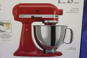 NEW KitchenAid Artisan Empire Red Stand Mixer KXM150PSER