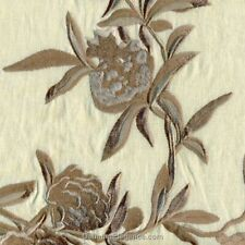 """Dransfield & Ross Fiori Driftwood Embroidered Floral King Pillow Sham 20"""" x 36"""""""