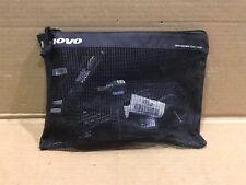 USED LENOVO POWER TIPS CHARGING KIT set AC/DC ADAPTER 90W car TRAVEL BAG 41R4538