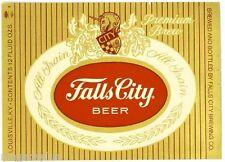 Falls City Beer Label Refrigerator/Tool Box Magnet