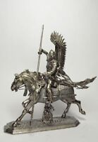 Tin soldier, figure. Polish Winged Hussar, 2nd half of the XVII century 54 mm