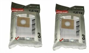 Shop Vac Filter Bag Replacement Vacuum Filtration 2-3 Gal 6 Pack 90668 NEW