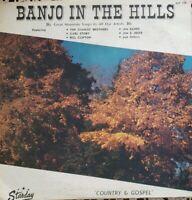 Starday Records ~ Banjo in the Hills ~ Country/Gospel ~ Vinyl Album ~ SLP-104