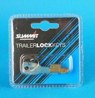 Anti-Theft Lock for Pressed Steel Coupling Hitch on Erde & Daxara Trailers