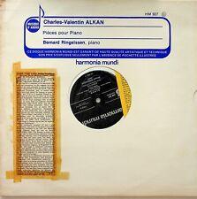 HM 927- Alkan, Bernard Ringeissen- Piano Pieces LP (Sonatine/Scherzo etc) EX++