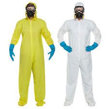Protective Biohazard Hazmat Suit Breaking Adult Fancy Dress Costume Bad Medium