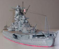 "1:250 Scale WW2 Japanese Yamato Battleship DIY Paper Model Kit 104cm=41"" Long"