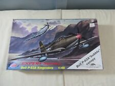 MPM 1:48 Bell P-63A Bubble Canopy 48037 Model Kit Open Box