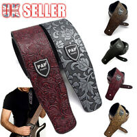 Classic Electric AU Acoustic Basses Luxury Soft Guitar Strap PU Leather