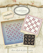 Quilt Pattern ~ FARMHOUSE COLLECTION - WINDMILLS ~ by Acorn Quilt & Gift Co.