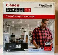 Canon PIXMA TS8322 All-In-One Wireless Inkjet Photo Printer Touch Screen