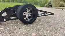 "ON SALE!!! TM RC "" Team Broke "" Rear wheel inserts for rc drag car dragster"